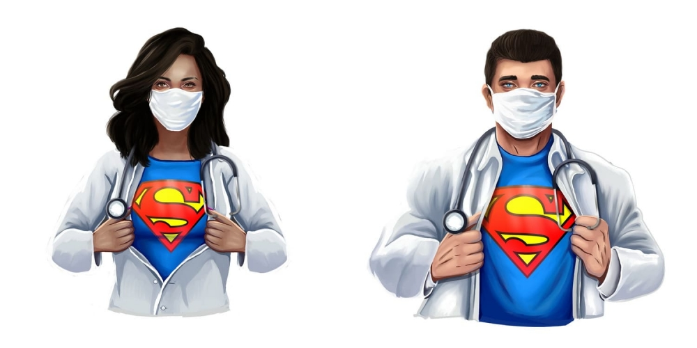 Doctors and Nurses are Our Real Heroes